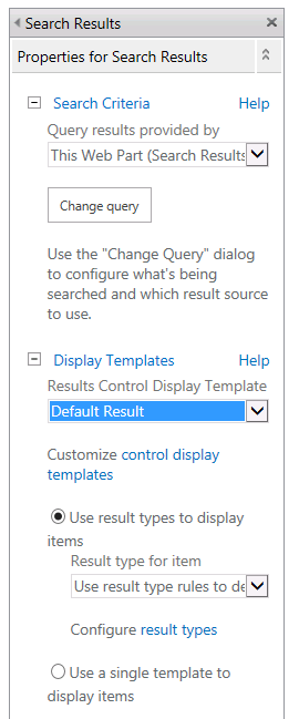 SharePoint 2013 – Display templates – My Microsoft SharePains