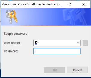 PowerShell – Setting User name Get-Credentials to log into