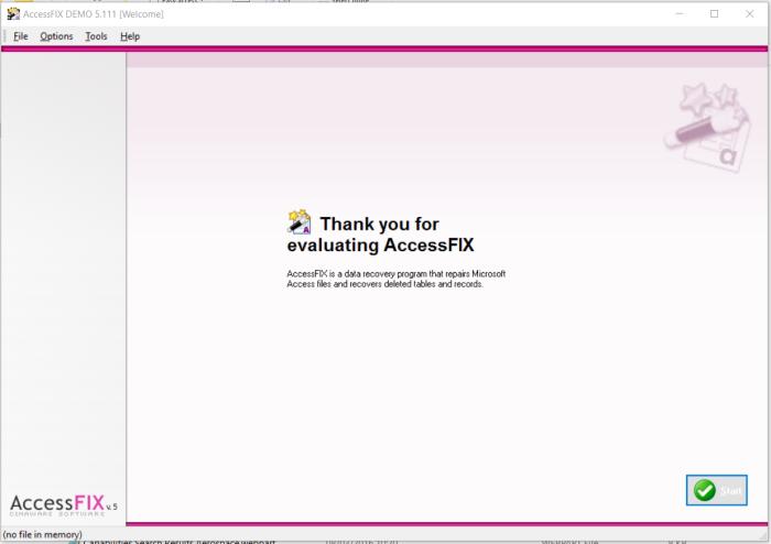 Access Fix Interface