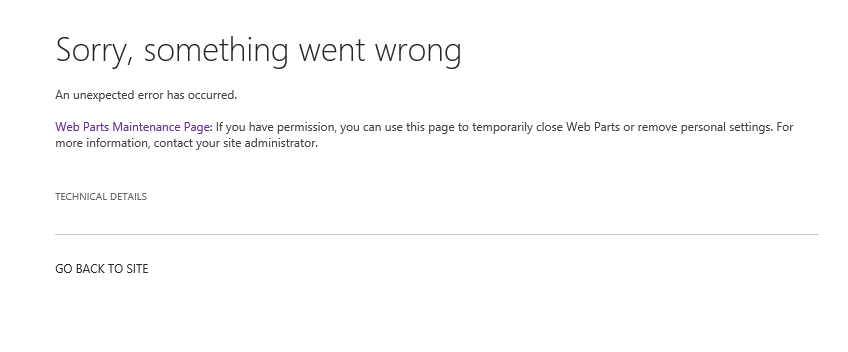 Office 365 – SharePoint – My Membership Web Part not working