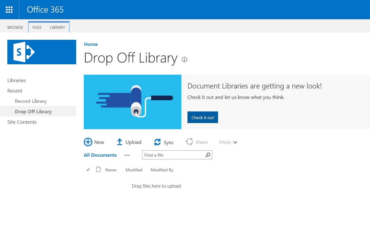 Office 365 sharepoint the records center all the - Is sharepoint included in office 365 ...