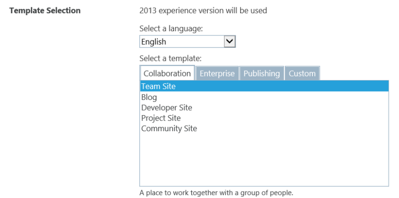 training site template part 1 introduction microsoft sharepoint