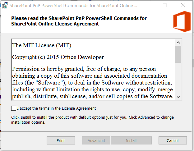 Office 365 – SharePoint – Getting Started with PnP PowerShell – My