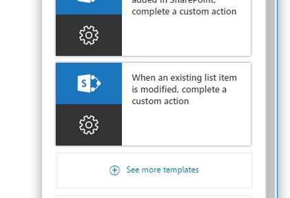 select-flow-template
