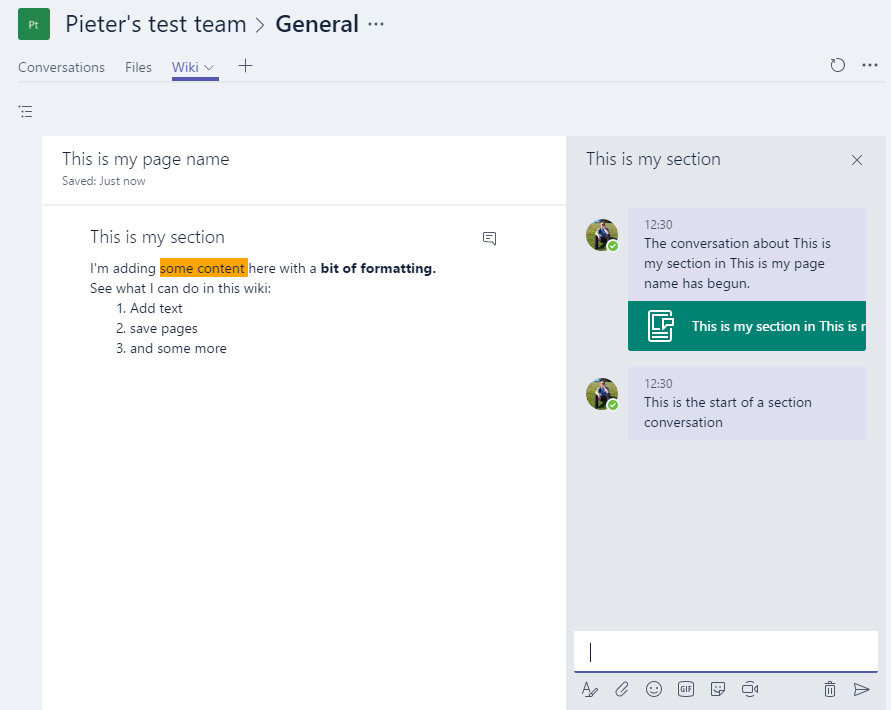 Office 365 – Microsoft Teams – a look under the hood of the wiki ...