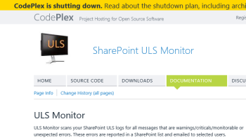 SharePoint 2013 – Critical, Unexpected, Warnings and Monitorable
