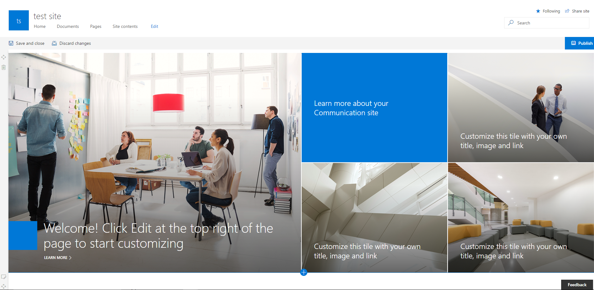 Office 365 – Communication sites are there – My Microsoft SharePains