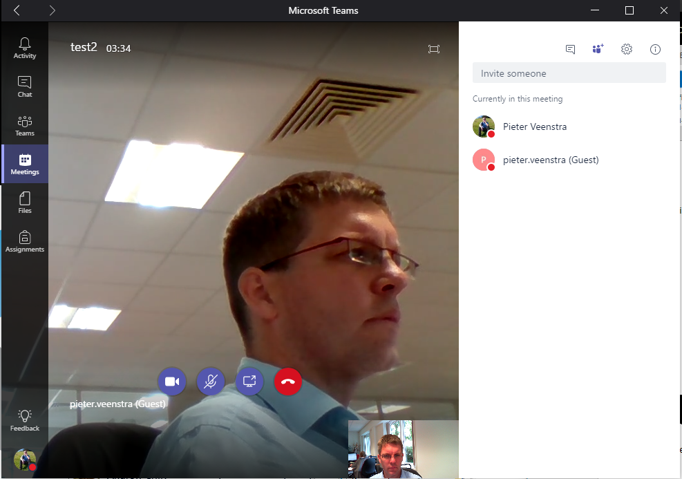 Microsoft Teams – Meetings with guest access  Did you get