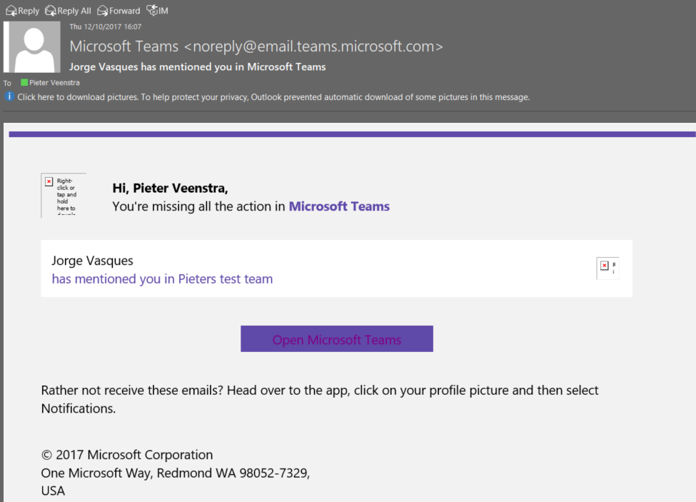 Microsoft Teams – Notifications – I don't get it! – My