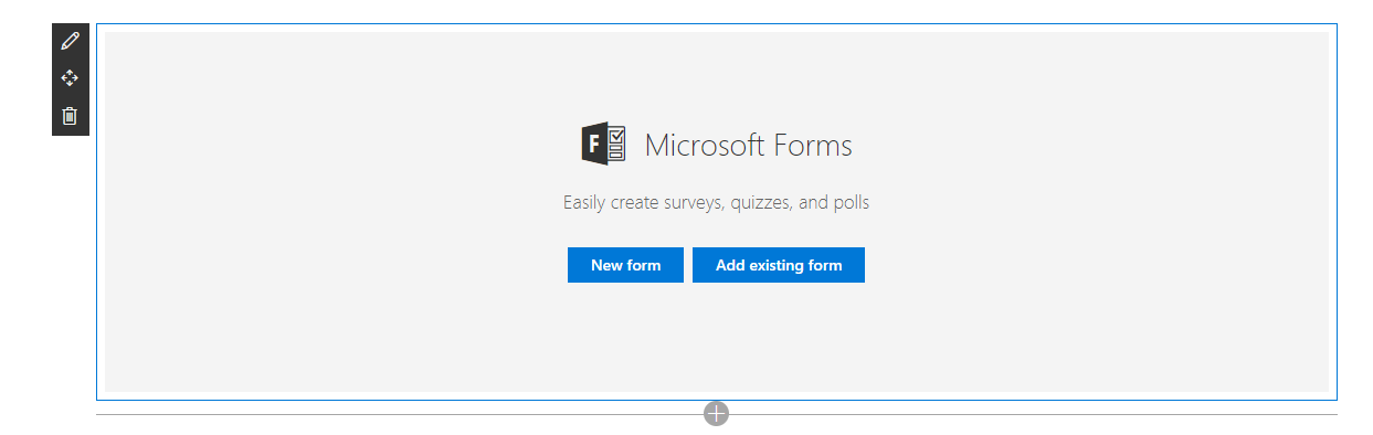 Office 365 – Create a user feedback form within minutes with