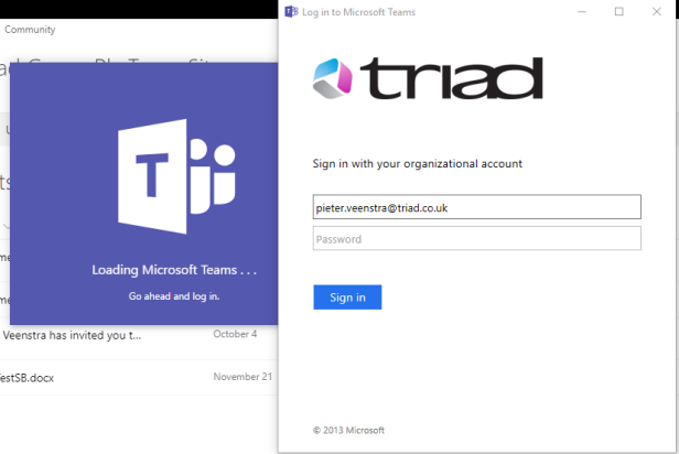 Log in to Microsoft Teams, log-out and log out again 4
