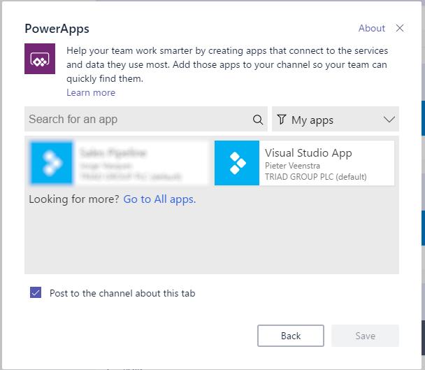 Microsoft Teams – Integration with Visual Studio Team