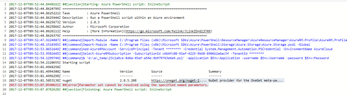 Azure Powershell – Install PnP PowerShell using InlineScript within