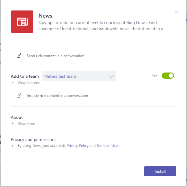 Search for or type a command in Microsoft Teams - a complete overview Microsoft Office 365, Microsoft Teams