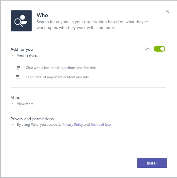 Search for or type a command in Microsoft Teams - a complete overview 12