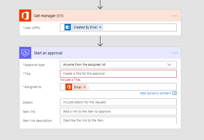 Microsoft Flow – Get your manager to approve documents