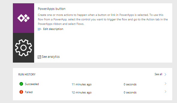 PowerApps – Start your Microsoft Flow from PowerApps