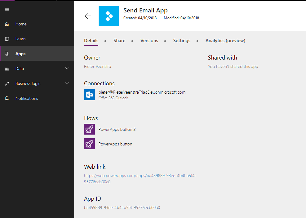 PowerApps – How to mess up your app by removing flows from