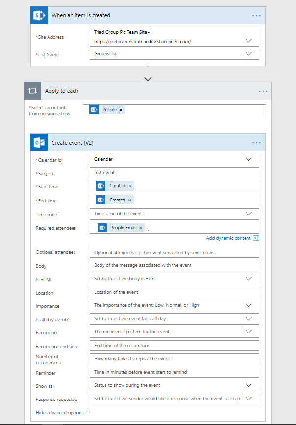 Microsoft Flow – The pains of SharePoint's multi-people