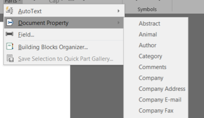 SharePoint Online/2016 – Document Properties vs DocProperty