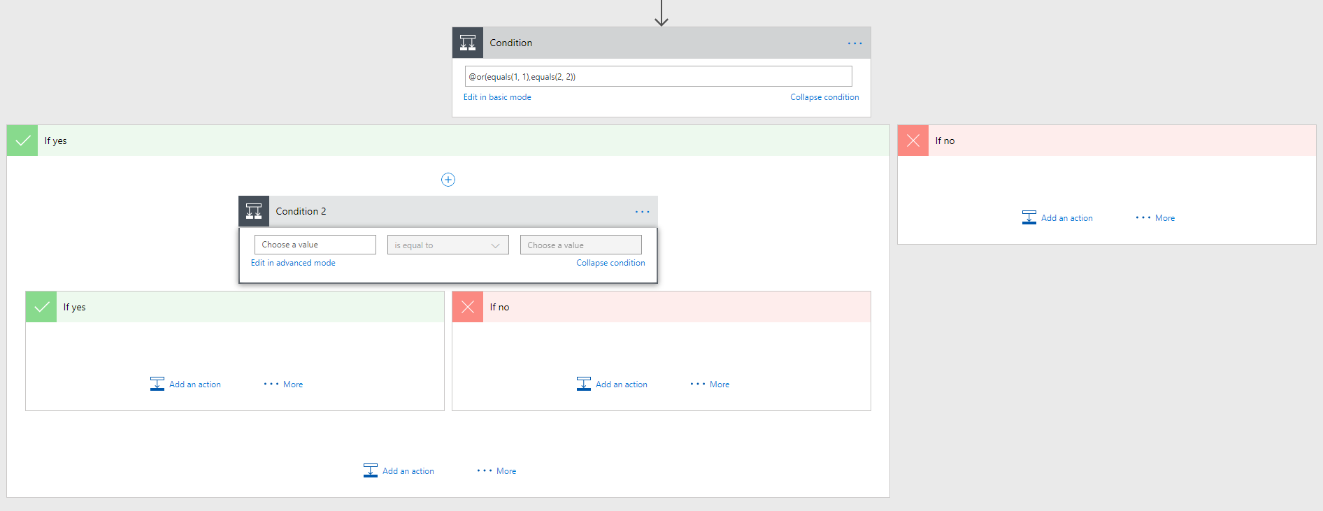 Microsoft Flow – My conditional love in Microsoft Flow