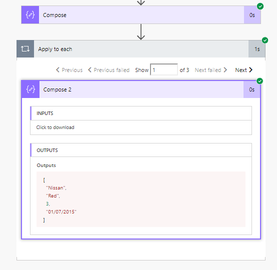 Shed some light on arrays or collections in Microsoft Flow – My