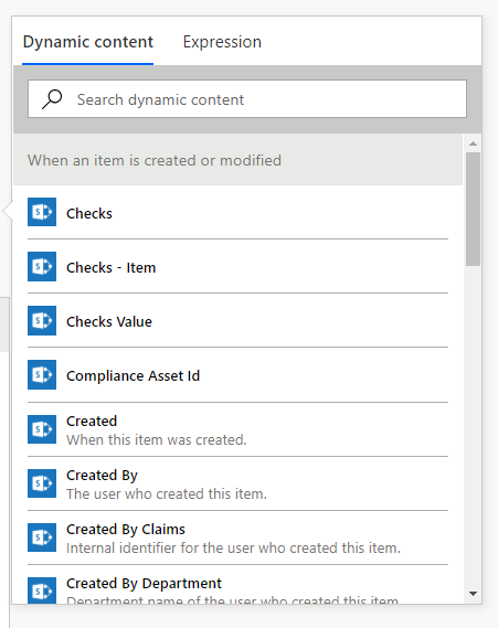 Dynamic content in Flow
