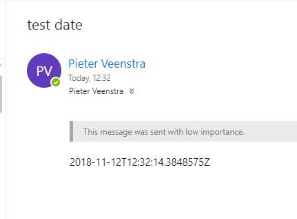 Microsoft Flow – Format Dates with formatDateTime – My Microsoft