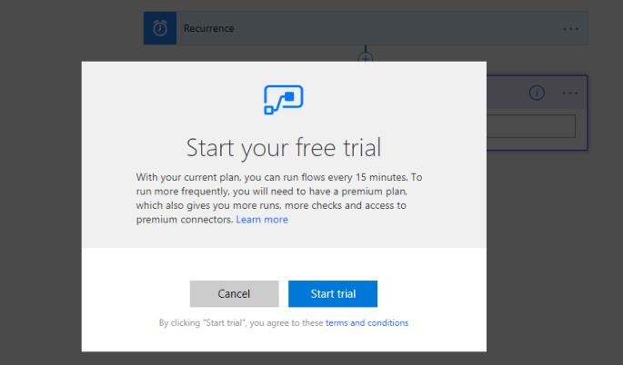 Microsoft Flow – Free, P1 or P2 licences? – My Microsoft SharePains