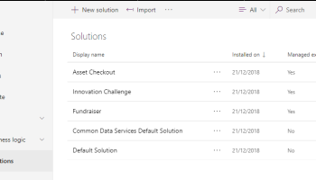 PowerApps – Common Data Services, the Ins and the Outs of