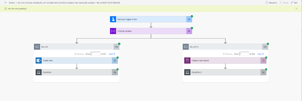 Flow to Compare Entity and SharePoint list