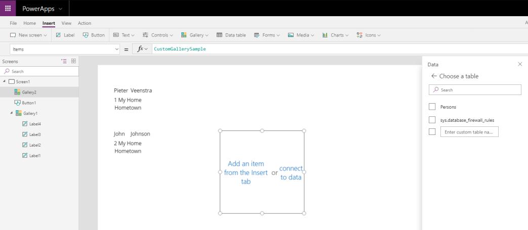PowerApps / Microsoft Flow – Using data in SQL Azure - European