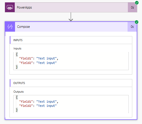 Parameters in Flow from PowerApps