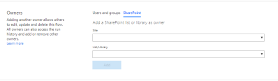 SharePoint Owners