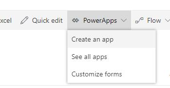 Create an App from a list