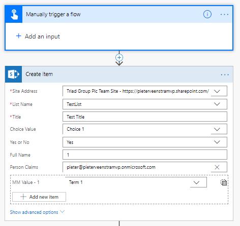 powerapps update sharepoint choice field