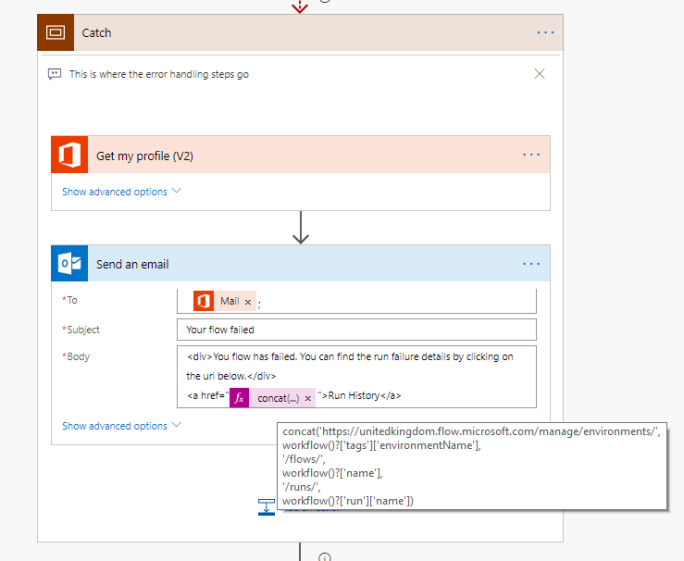 Implementing a Try, Catch, Finally in Logic Apps – My Microsoft