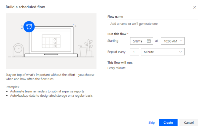 3 new options to create your flows in Microsoft Flow