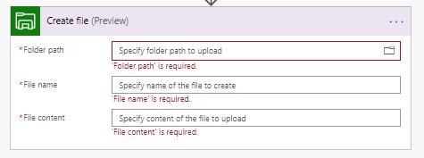 Create filein Azure Storage