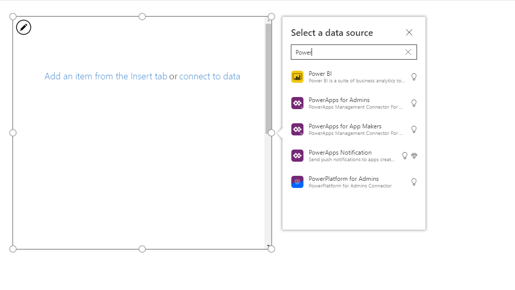 PowerPlatform for Admins in PowerApps.